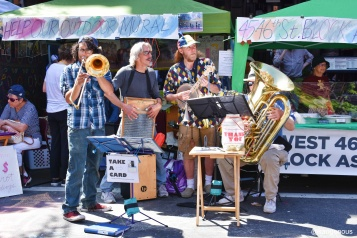 A street band