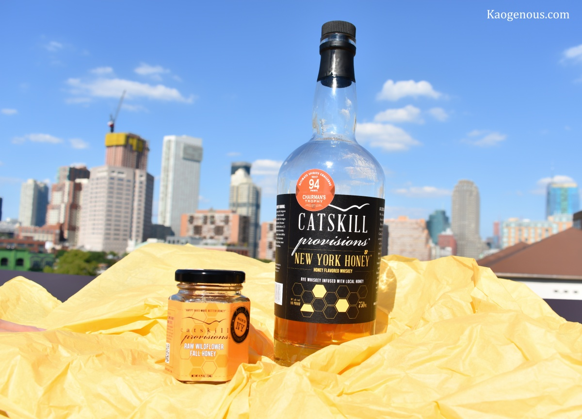 Bee Happy: Catskill Provisions New York Honey Whiskey Review