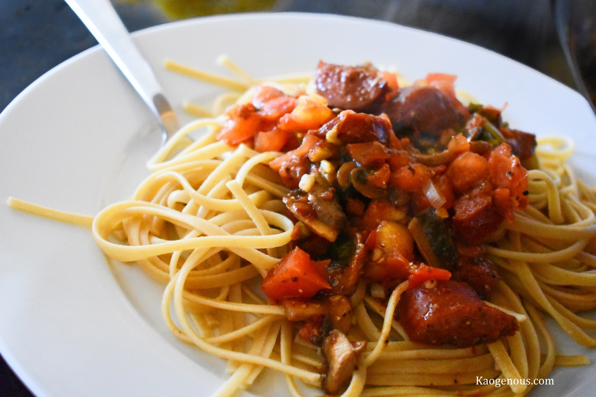 Spicy Sweet Sausage Spaghetti Sauce Recipe