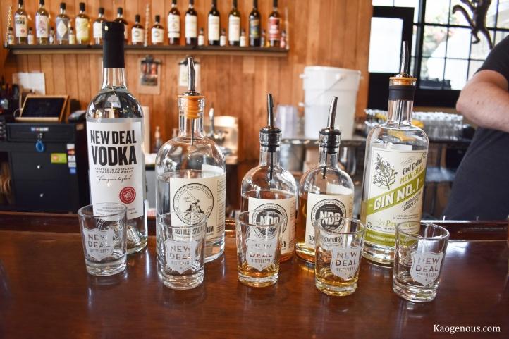 Liquor-Tasting-Flight-New-Deal-Distlling