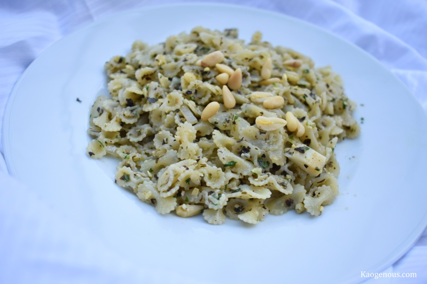 pesto-gin-pasta-recipe-plate