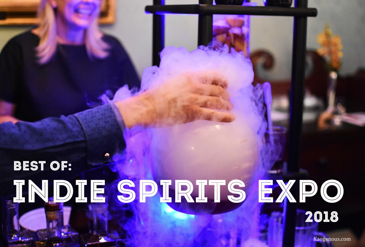 The Best Spirits from the NYC Indie Spirits Expo2018